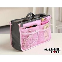 Insert Handbag Internal Organizer Bag in Bag Pink